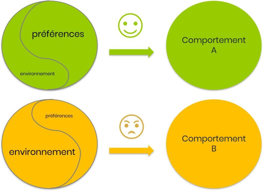 Impact de l'environnement sur le comportement